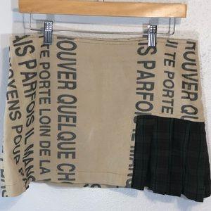 Custo Barcelona mini skirt size 8